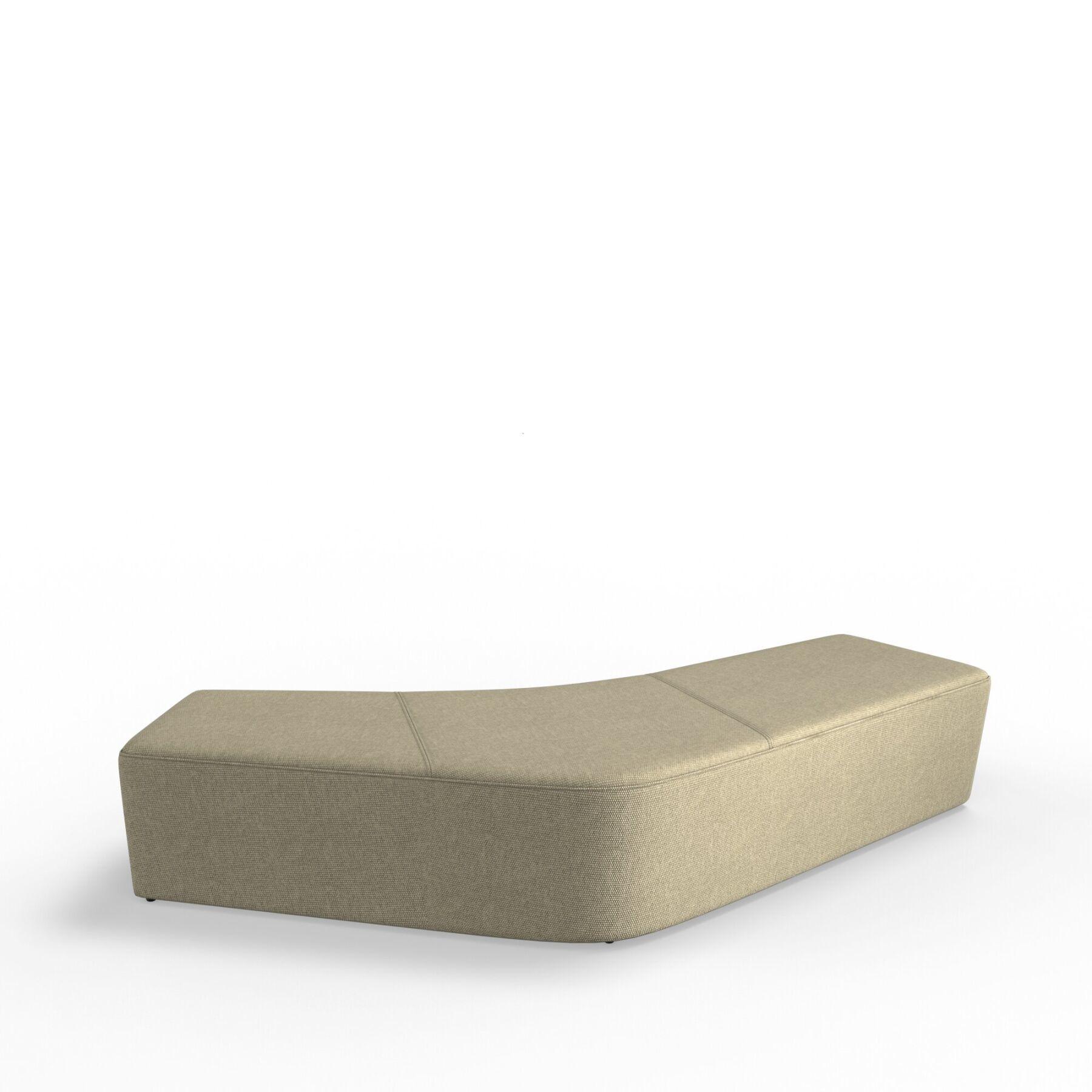Четырехместный диван KULIK SYSTEM SLIDE_3 Ткань Без спинки