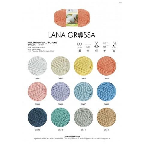 Lana Grossa Meilenweit Solo Cotone Stella 3607