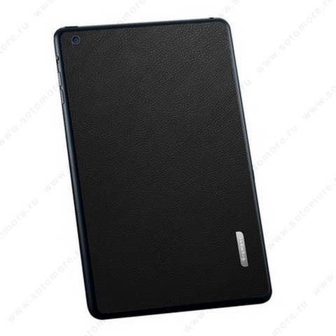 Наклейка SGP для iPad mini 3/ 2/ 1 - SGP Skin Guard Leather Black SGP10068