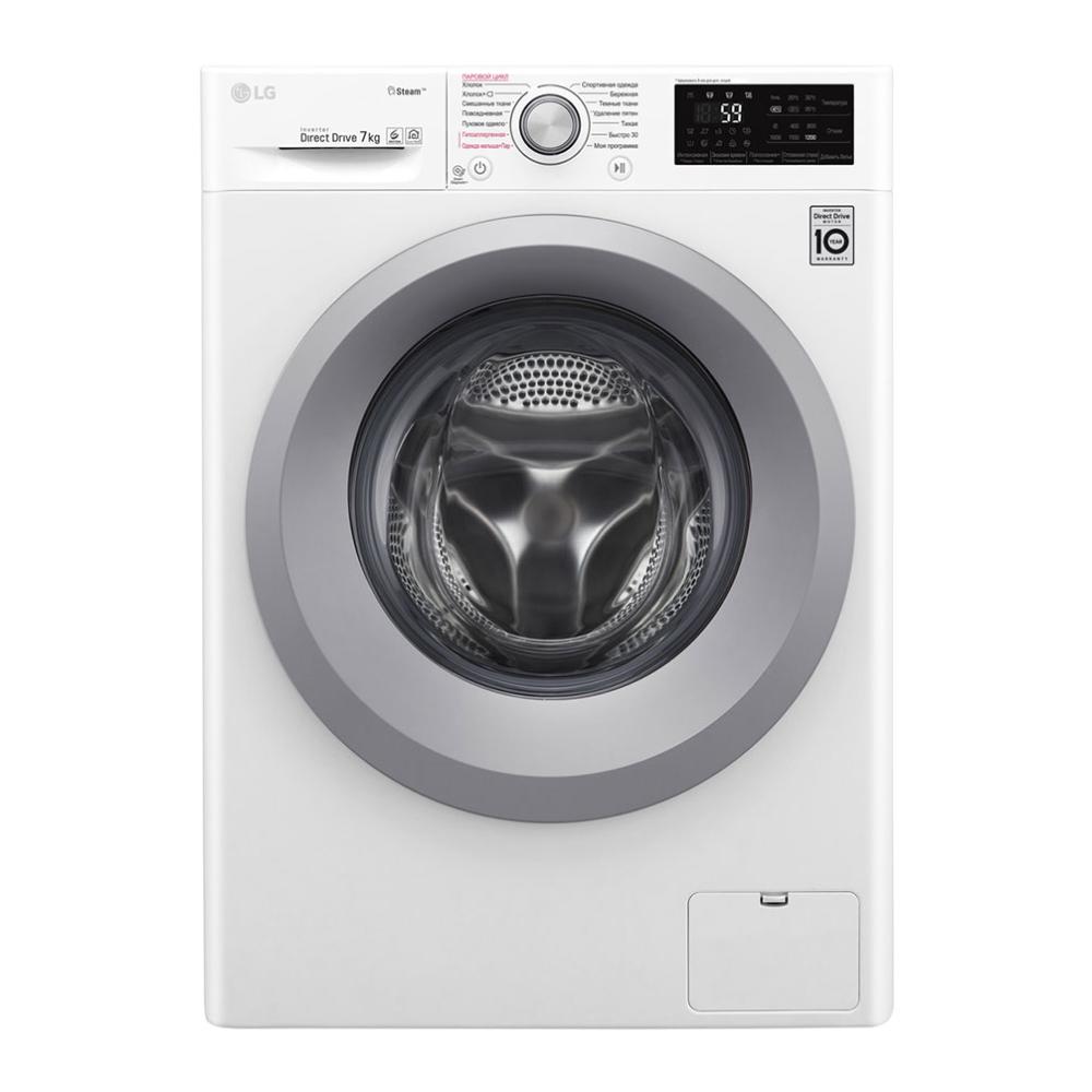 Узкая стиральная машина LG с функцией пара Steam F2J5HS4W фото