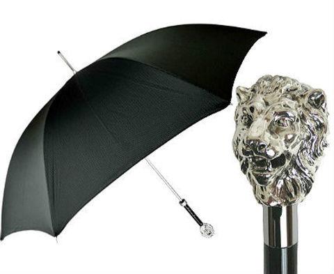 Зонт-трость Pasotti 5787-19-W37 Silver Lieon