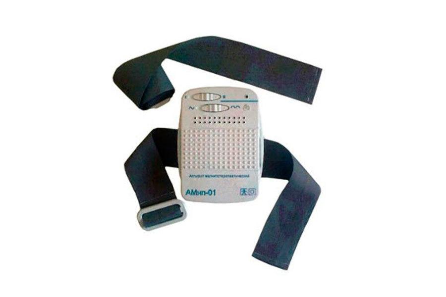 Система фиксации аппарата магнитотерапии АМнп-01