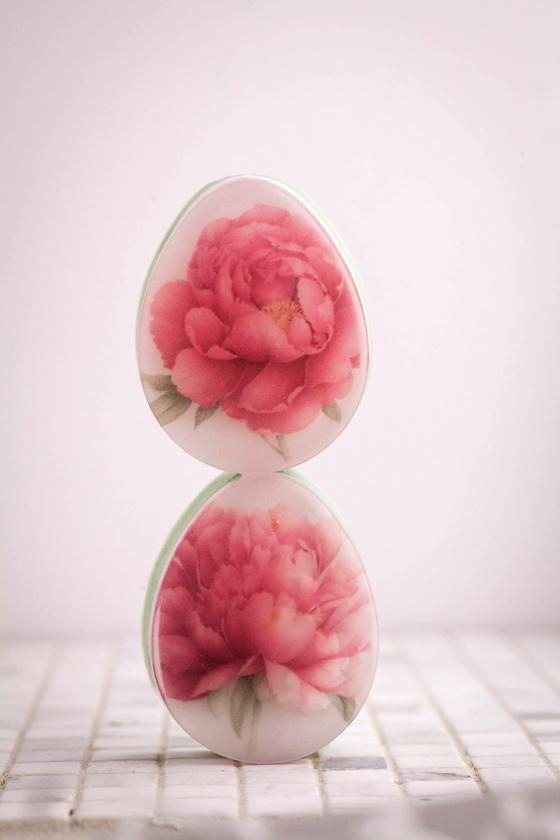 Мыло Яйцо плоское. Пластиковая форма