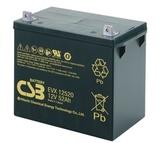 Аккумулятор  CSB EVX12520 ( 12V 52Ah / 12В 52Ач ) - фотография