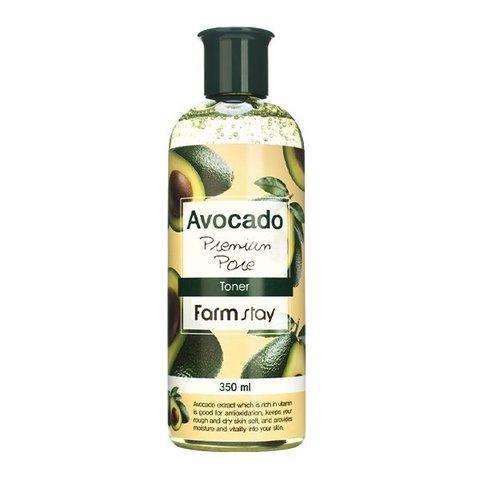 Антивозрастной тонер с экстрактом авокадо Farm Stay Avocado Premium Pore Toner