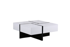 """Журнальный стол """"MK-5804-WT"""" прямоугольный раскладной —  Белый"""