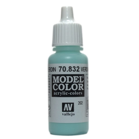Model Color Verdigris Glaze 17 ml.
