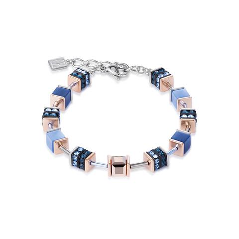 Браслет Coeur de Lion 4928/30-0700 цвет голубой, серый