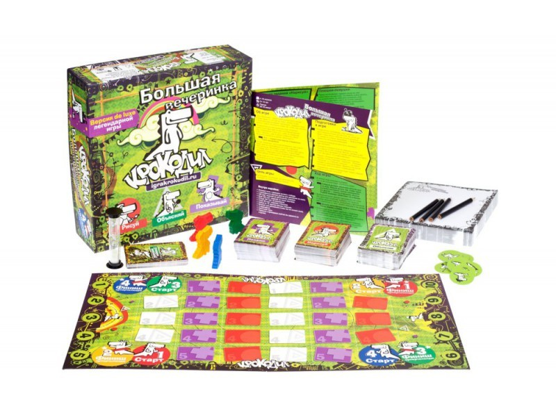 Настольная игра Крокодил Большая вечеринка
