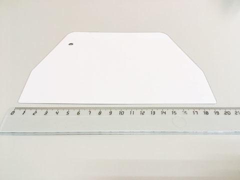 Шпатель пластиковый, 19 см