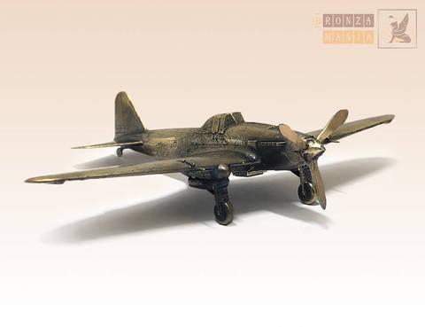 фигурка Самолет штурмовик Ил-2 (1:144)