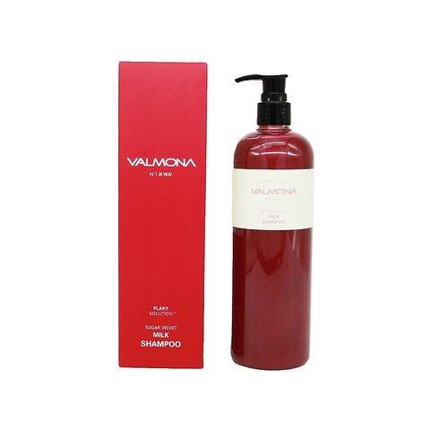 Шампунь для волос Ягоды VALMONA Sugar Velvet Milk Shampoo 480 мл