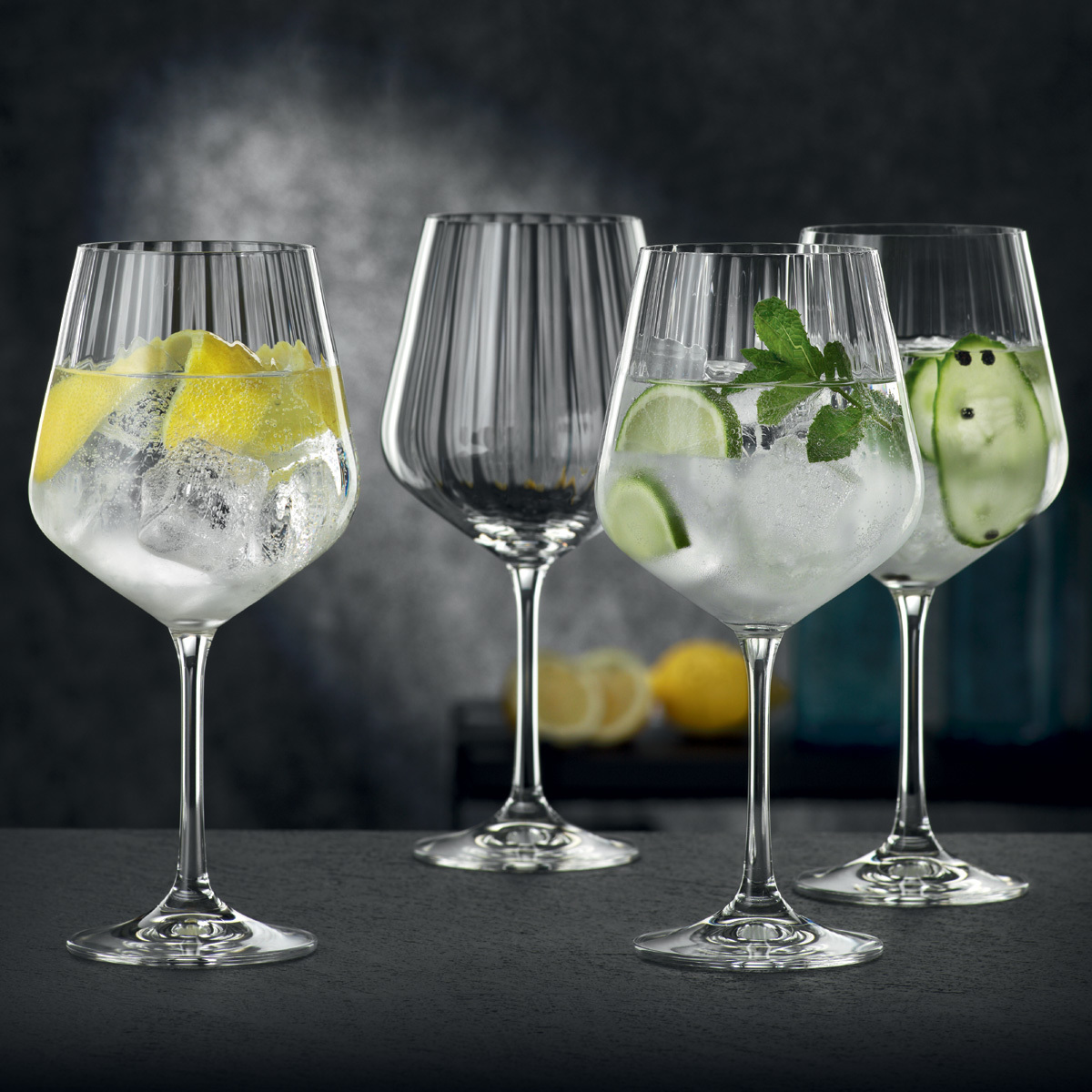 Фото - Набор из 4-х бокалов для коктейлей Nachtmann Gin&Tonic, 640 мл набор бокалов для коктейлей sea life