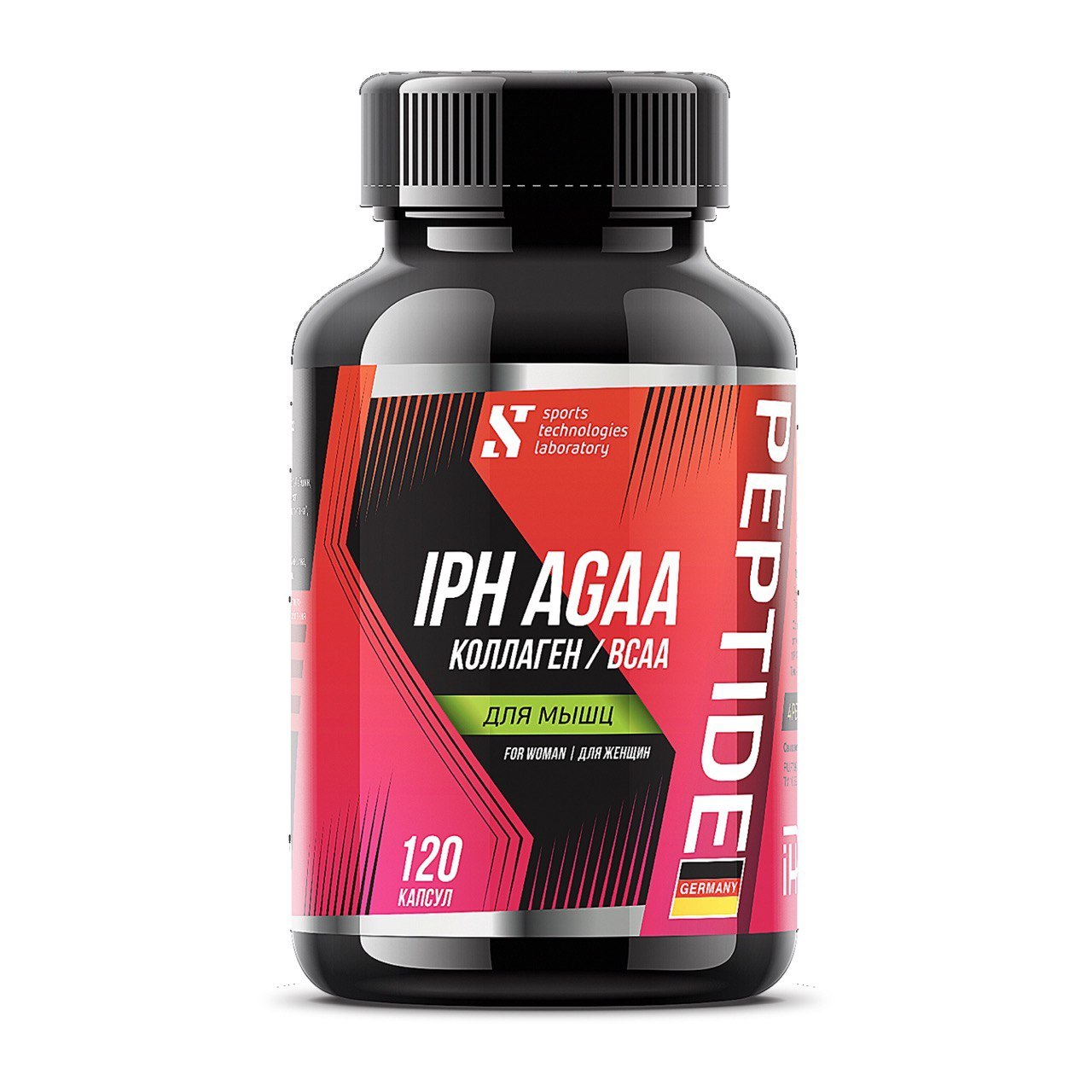STL BCAA Collagen IPH AGAA для мышц (жен)