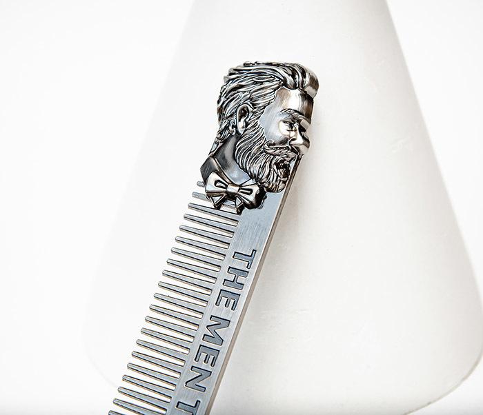 CARE168 Стильная расческа для волос из стали фото 02