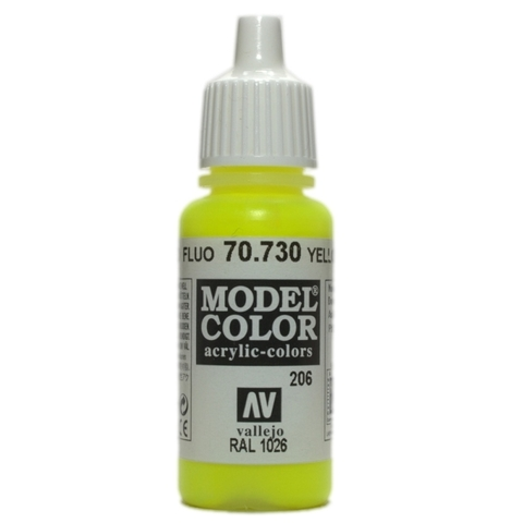 Model Color Yellow Fluo 17 ml.