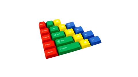 Набор клавиш «RGBY 19keys»