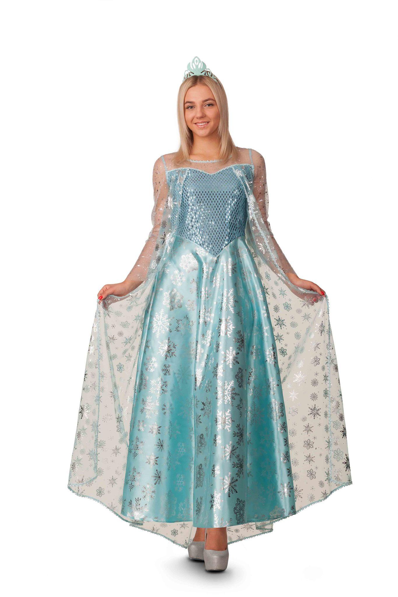Карнавальный костюм взрослый Эльза