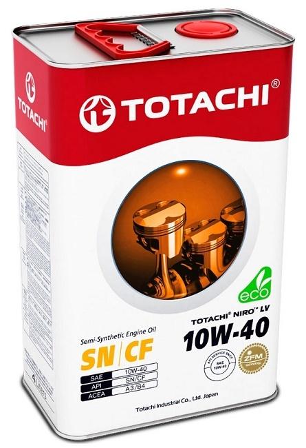 NIRO LV SEMI-SYNTHETIC 10W-40 TOTACHI масло моторное полусинтетическое (4 Литра)