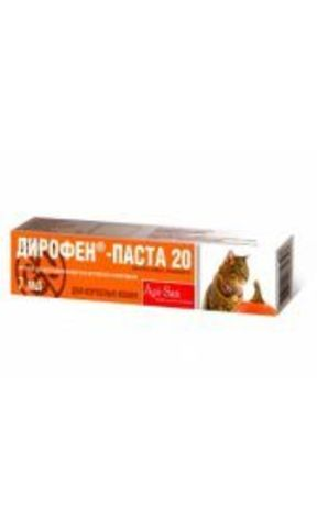 Diropen Paste 20 for adult cats