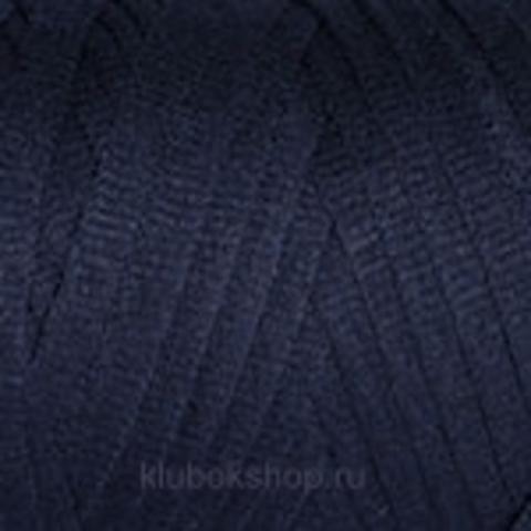 Ленточная пряжа YarnArt Ribbon цвет 784 Темно-синий - купить в интернет-магазине недорого klubokshop.ru