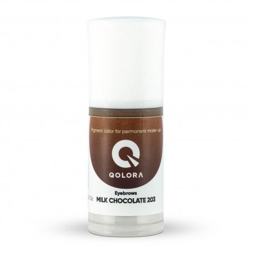 Пигмент Qolora Milk Chocolate 203