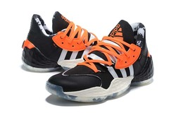 adidas Harden Vol.4 'Black/White/Orange'