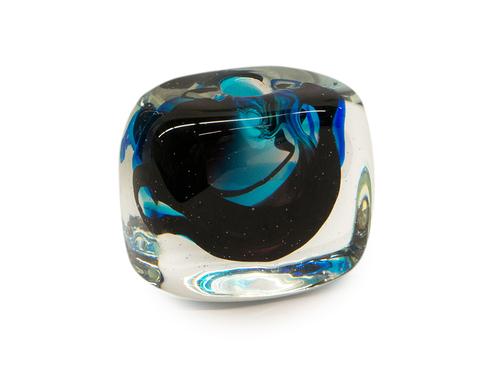 Blue Lava Vase
