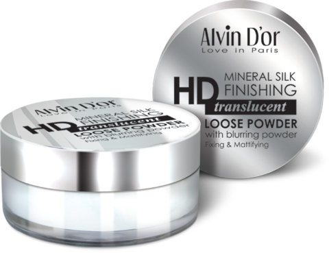 Alvin D`or LSP-02 Пудра рассыпчатая Mineral Silk Finishing 8г