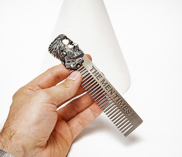 CARE168 Стильная расческа для волос из стали фото 06