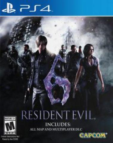 PS4 Resident Evil 6 (русские субтитры)