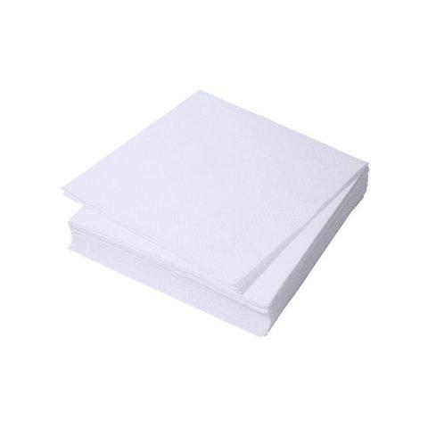 Салфетка спанлейс белый 20х20см 100шт/уп /БМ/