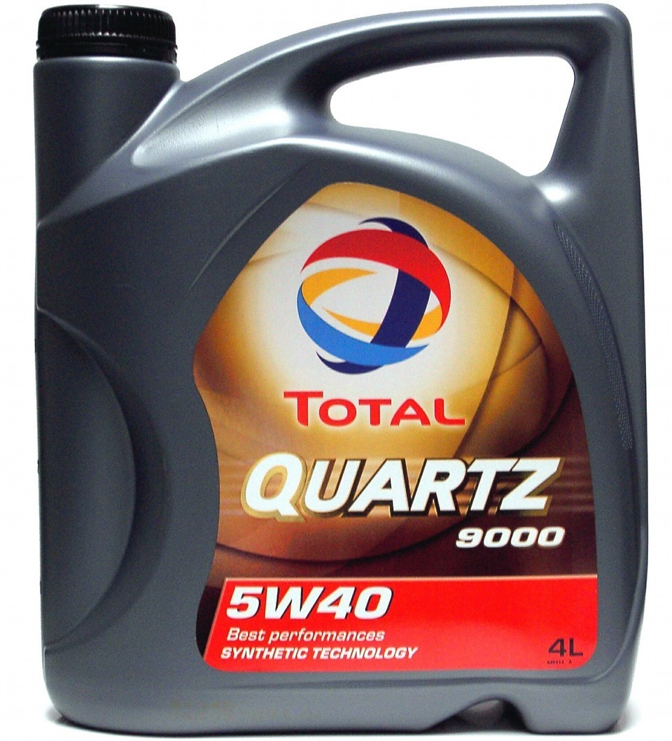 Total 9000 quartz 5W40 Синтетическое моторное масло