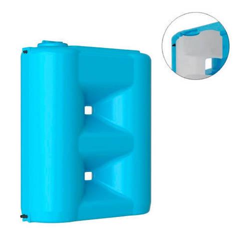 Бак для воды АКВАТЕК COMBI W 2000 BW (двухслойный, цвет сине-белый)