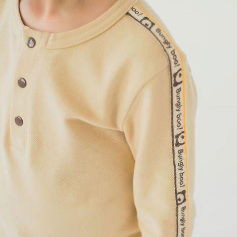 Лонгслив-поло из ткани пике