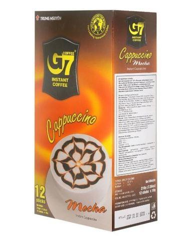 Растворимый кофе капучино 3в1 Trung Nguyen. Коробка 24х12 штук.
