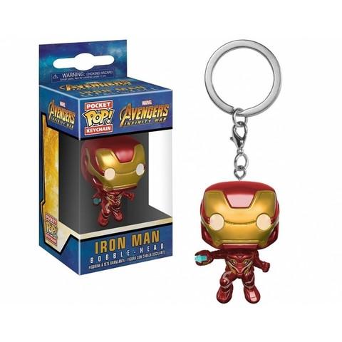Брелок Железный Человек. Война бесконечности || POP! Keychain Iron Man. Avengers Infinity War
