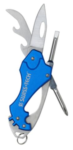 Мультитул Swiss+Tech Key Ring, 6 инстр.