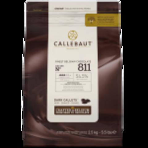 Тёмный Шоколад Callebaut 54,5%, 2,5 кг
