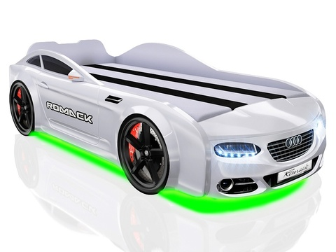 Кровать-машинка Romack Real A7