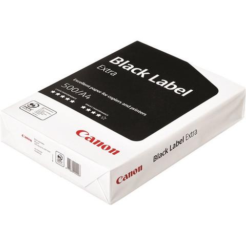 Бумага для офисной техники Canon Black Label Extra (А4, марка B, 80 г/кв.м, 500 листов)