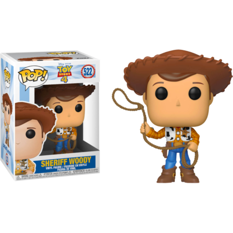 Фигурка Funko Pop! Disney: Toy Story 4 - Sheriff Woody