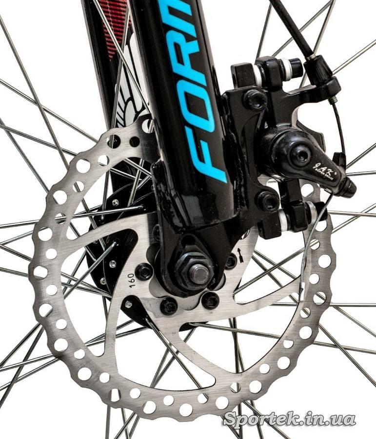 Дискові гальма гірського універсального велосипеда Formula Blaze DD 2016