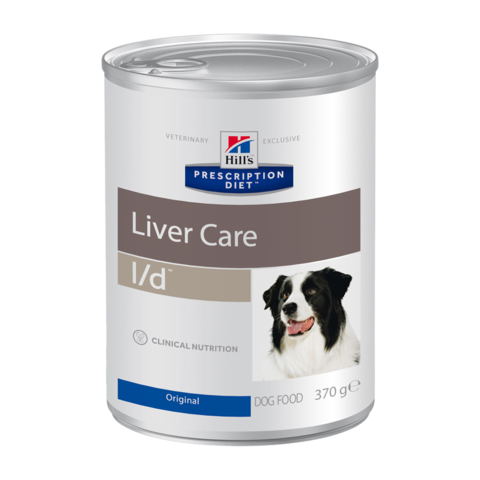 Hill's Prescription Diet L/D Консервы для собак при заболеваниях печени