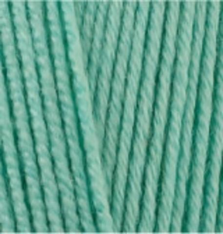 Пряжа Lanacoton Alize 15 Водяная зелень