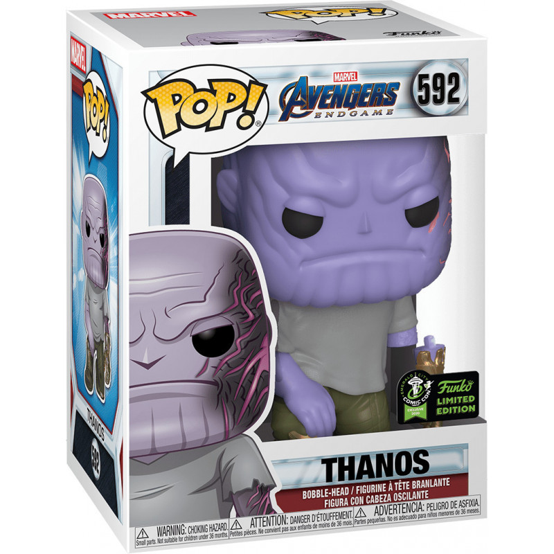 Фигурка Funko POP! Bobble: ECCC: Marvel: Thanos (Exc) 45990