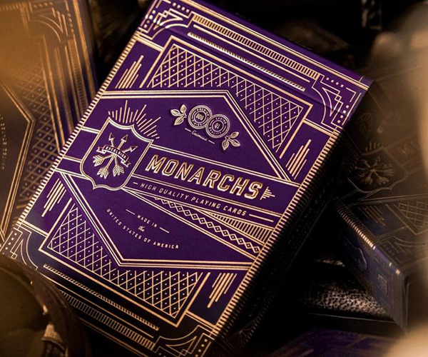 Purple Monarchs от Theory11
