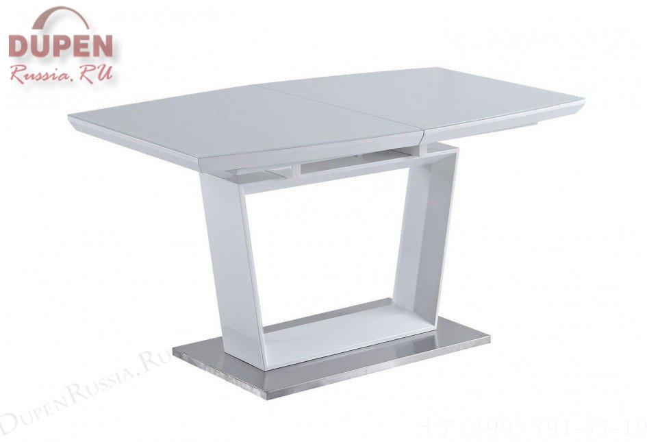 Стол обеденный AVANTI AURORA (140) WHITE (белый)
