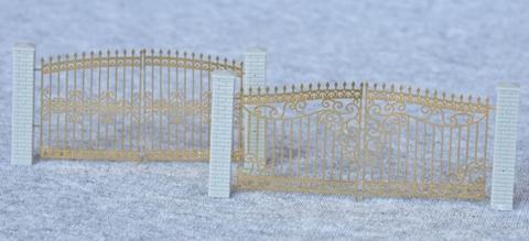 СвеТТофор 87112 Ажурные металлические ворота (Тип 1), НО
