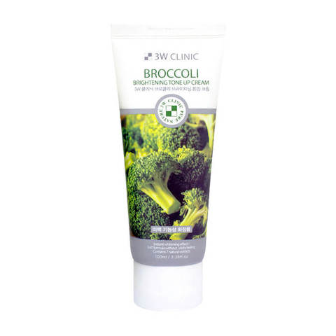 3W CLINIC Крем с экстрактом брокколи Broccoli Brightening Tone Up Cream